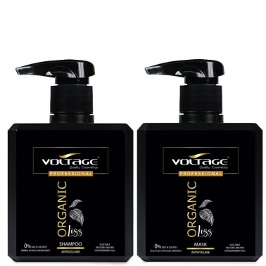 Shampoo + Mask Antivolume Organic Liss